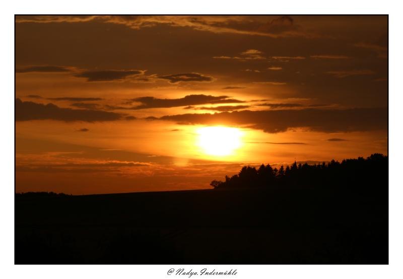 Lever ou coucher de soleil. Cadri291