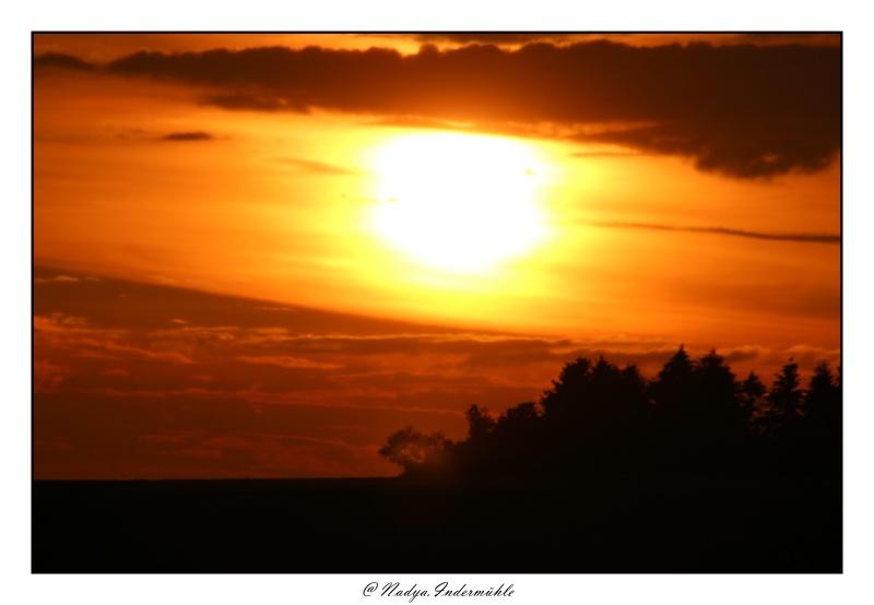 Lever ou coucher de soleil. Cadri292
