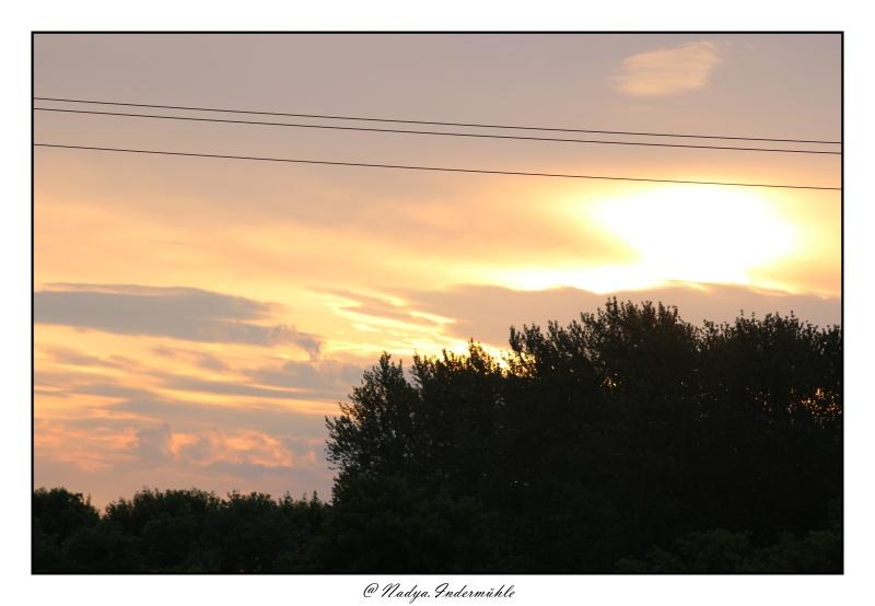 Lever ou coucher de soleil. Cadri328