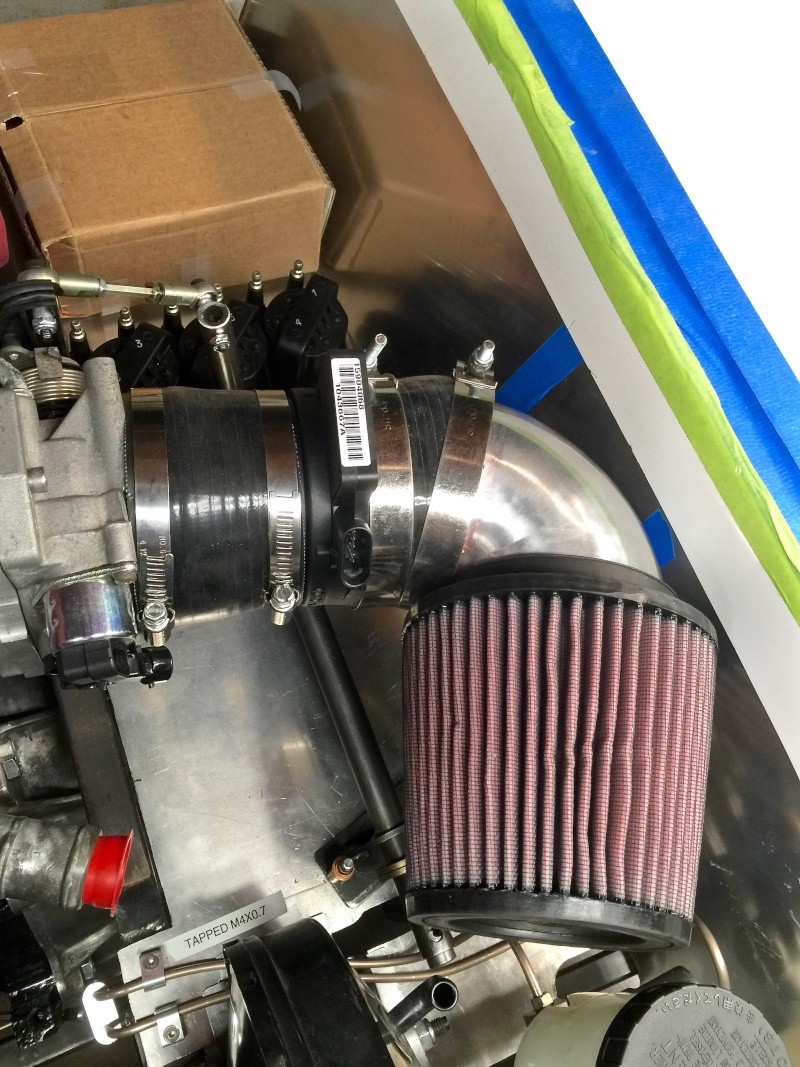 Classic R #27 Build - Throttle Body and Engine Dry Fit Air-fi11