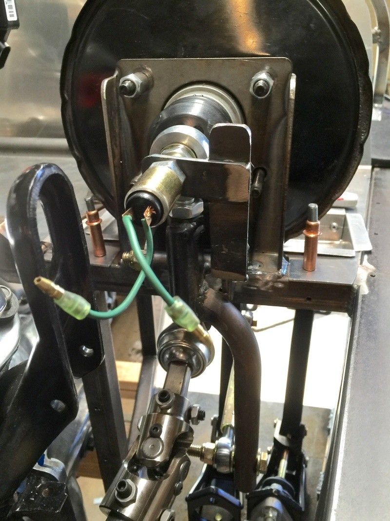 Classic R #27 Build - Brake Booster, Dash, Pedals and Steering Brake-12