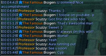 I saw Scuzzy!! Screen29