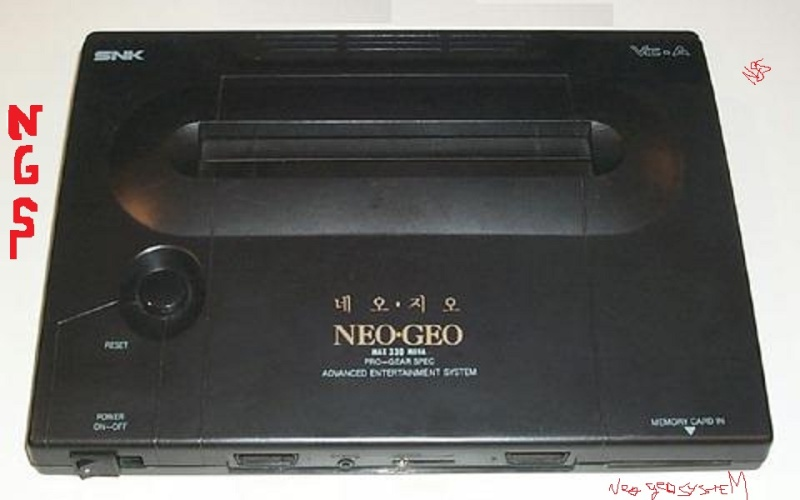 NEOGEO of the Korean body case version Korean10