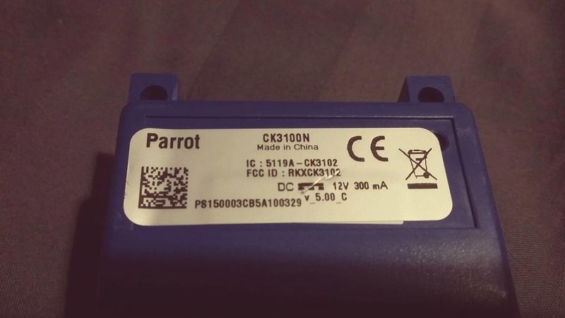 Kit parrot + feux AR  13230911