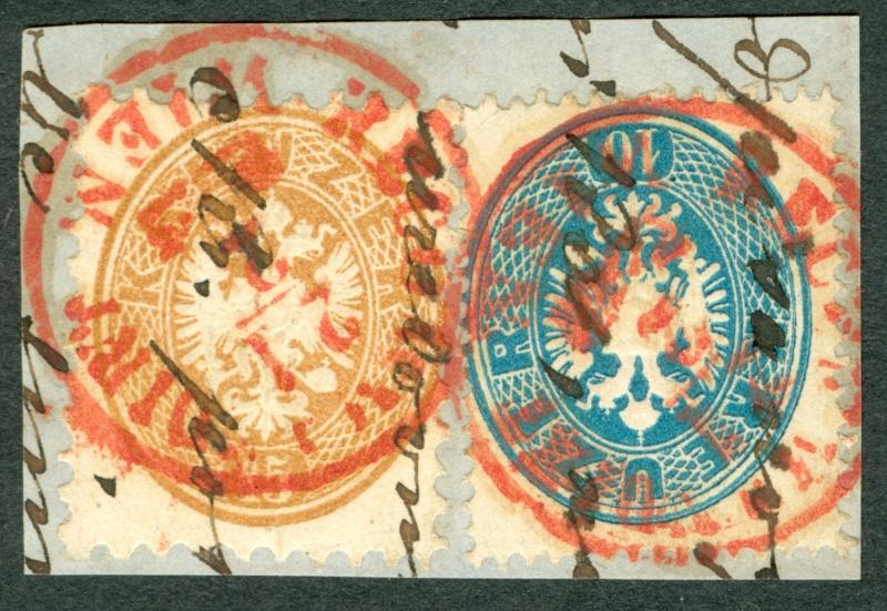 Die Freimarkenausgabe 1863/1864 1863_b10