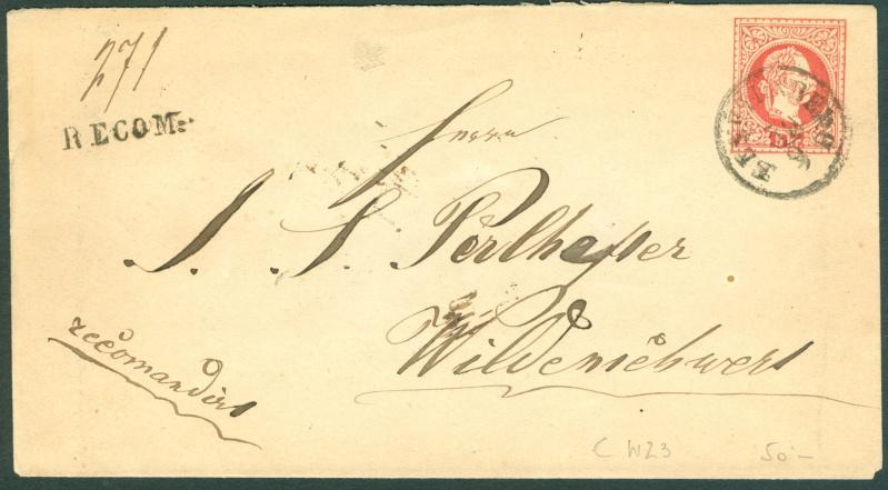 Nachtrag - Freimarken-Ausgabe 1867 : Kopfbildnis Kaiser Franz Joseph I - Seite 12 1867_g10