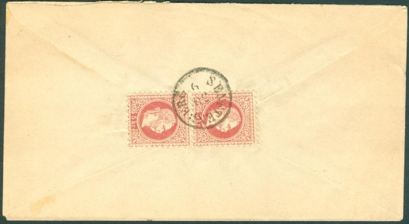 Nachtrag - Freimarken-Ausgabe 1867 : Kopfbildnis Kaiser Franz Joseph I - Seite 12 1867_g11