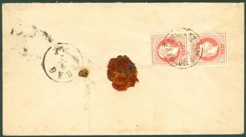 Nachtrag - Freimarken-Ausgabe 1867 : Kopfbildnis Kaiser Franz Joseph I - Seite 12 1867_g13