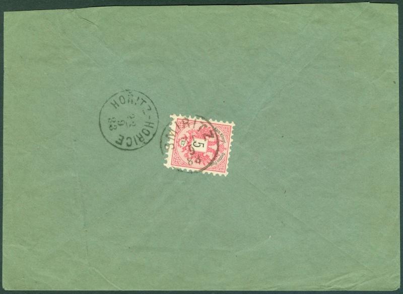 Nachtrag - Freimarken-Ausgabe 1867 : Kopfbildnis Kaiser Franz Joseph I - Seite 12 1883_m11