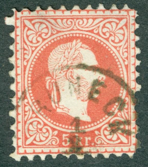 Freimarken-Ausgabe 1867 : Kopfbildnis Kaiser Franz Joseph I - Seite 14 5_kr_110