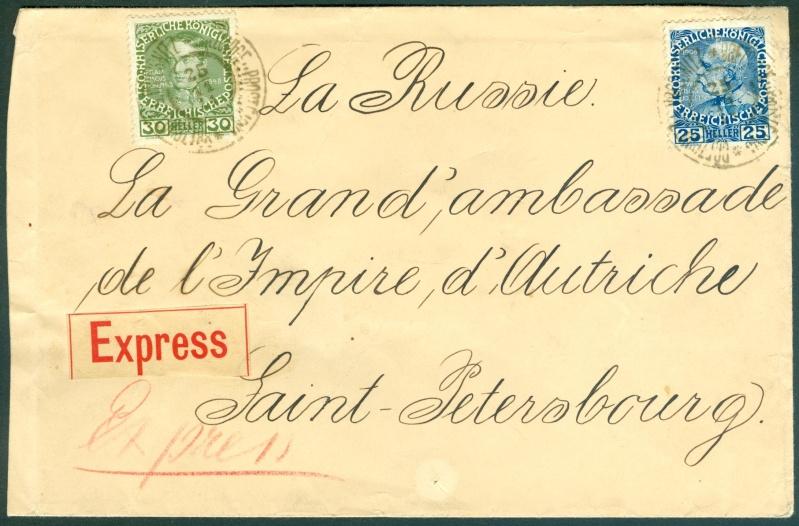 Die Freimarkenausgabe 1908 Expres10