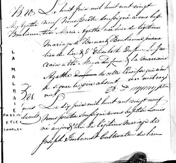 Agathe Gagné, Montagnaise - Page 2 Agathe11