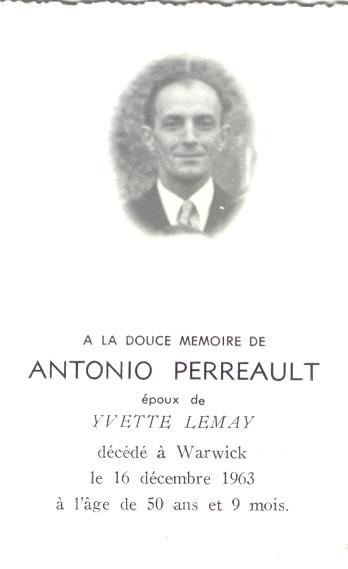 Perreault, Antonio Antoni10
