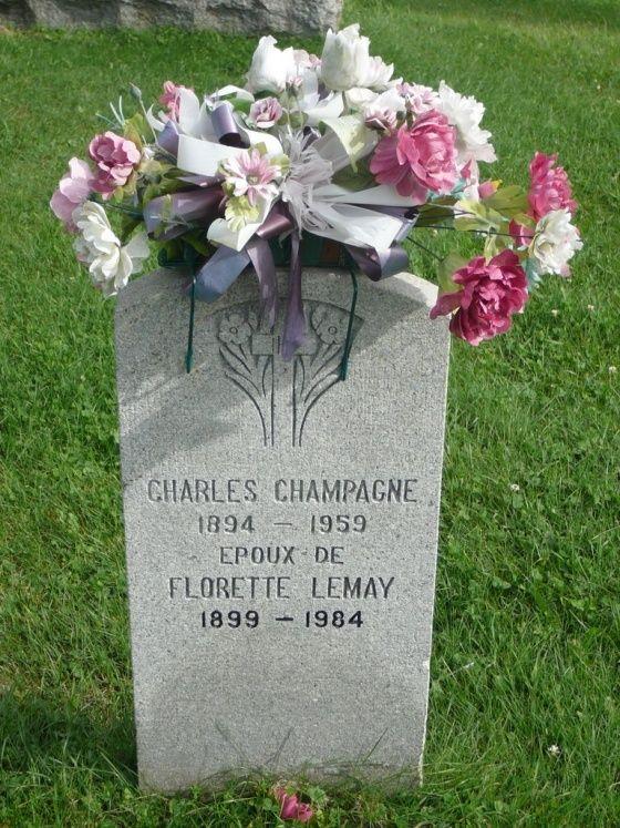 Enfants de Charles Champagne et Fleurette Lemay Champa11