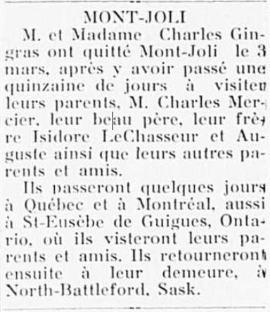 Charles Gingras et son épouse une Lechasseur  Charle12