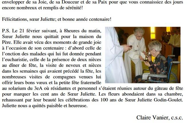 Pourquoi le patronyme Goulet pour Soeur Juliette Godin Deces_10