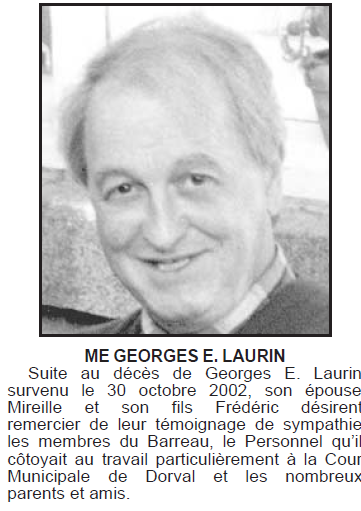Laurin, Georges George10