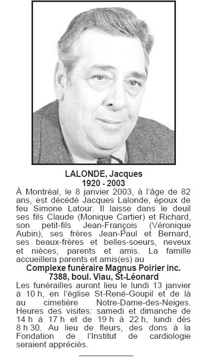 Lalonde, Jacques Jacque10