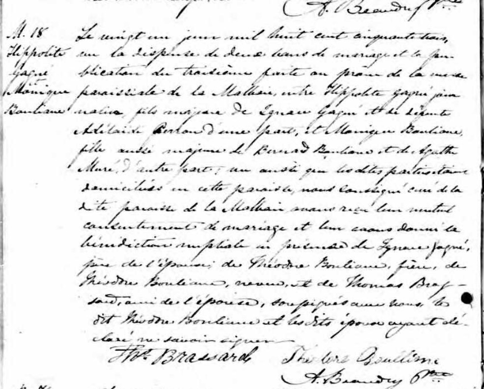 Agathe Gagné, Montagnaise - Page 2 Mariag14