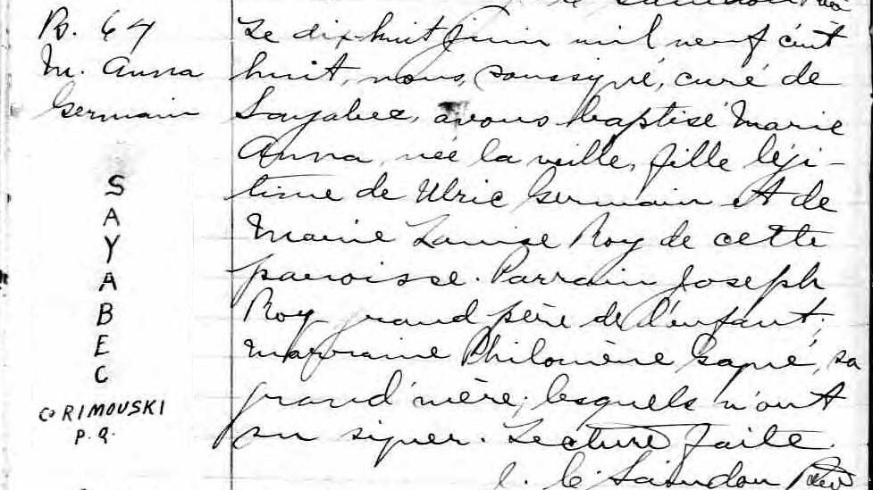 Ulric Germain pendu en 1927 à Rimouski pour le meurtre de son épouse Marie-16