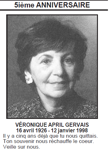 April, Véronique Gervais Vyroni10