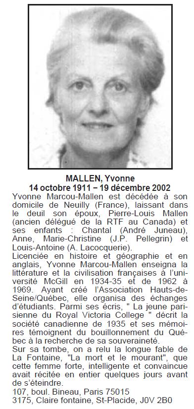 Marcou, Yvonne Mallen Yvonne10