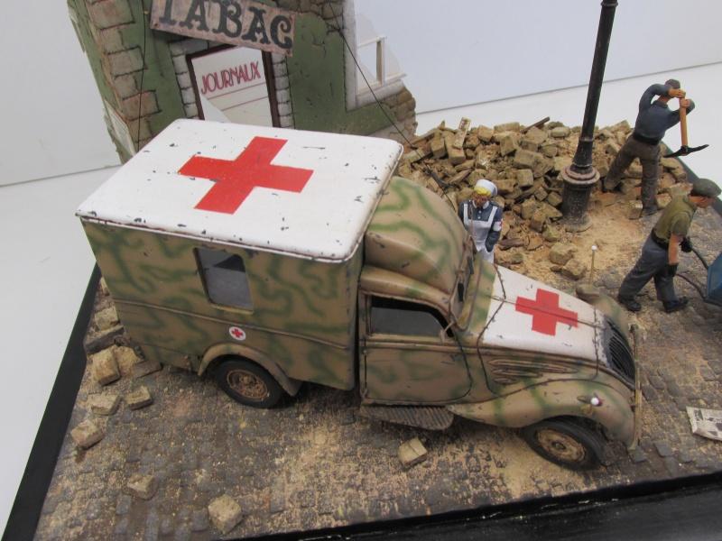 Peugeot ambulance - JMP - Résine - 1/35 Ambula23