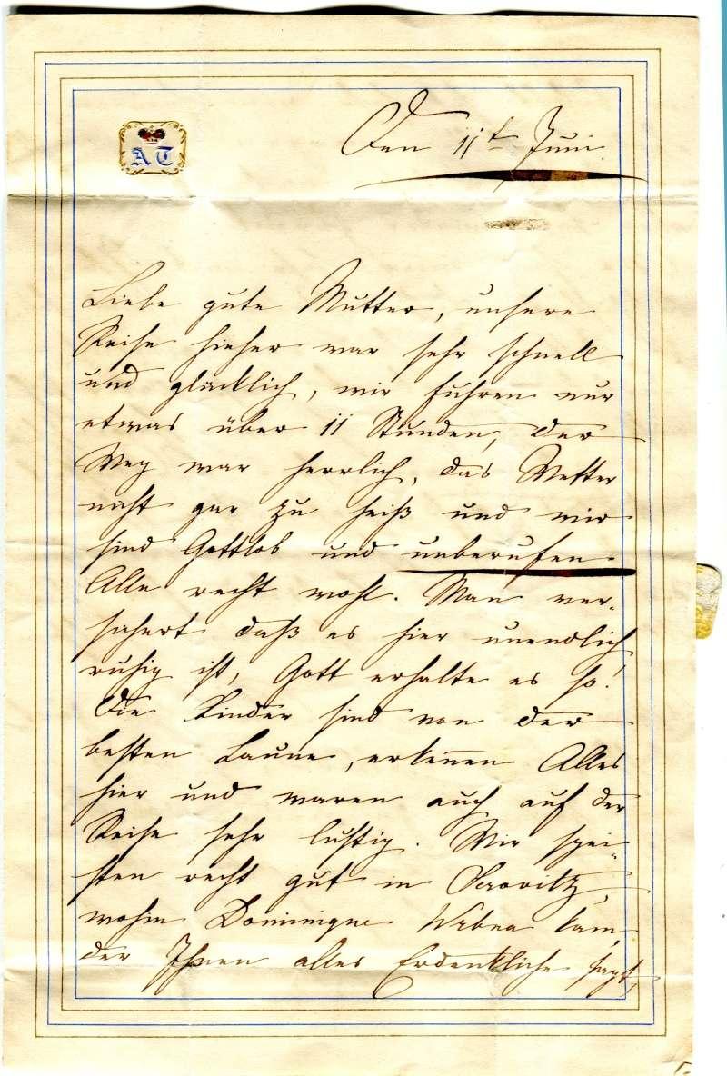 Vorphilatelie Österreich  -   Briefe aus der Vormarkenzeit - Seite 2 210