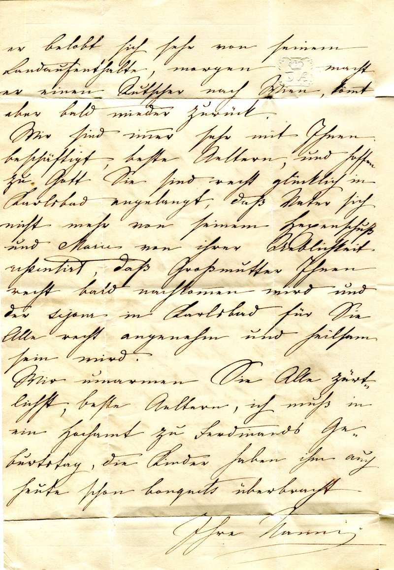 Vorphilatelie Österreich  -   Briefe aus der Vormarkenzeit - Seite 2 2a10
