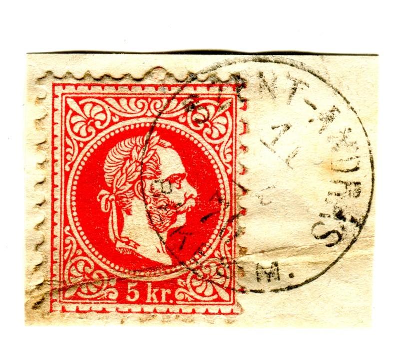 Nachtrag - Freimarken-Ausgabe 1867 : Kopfbildnis Kaiser Franz Joseph I - Seite 12 Szent_10