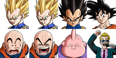 Ressource DRAGON BALL  Facese12