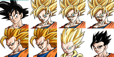 Ressource DRAGON BALL  Facese13
