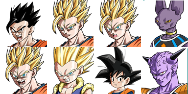 Ressource DRAGON BALL  Facese15