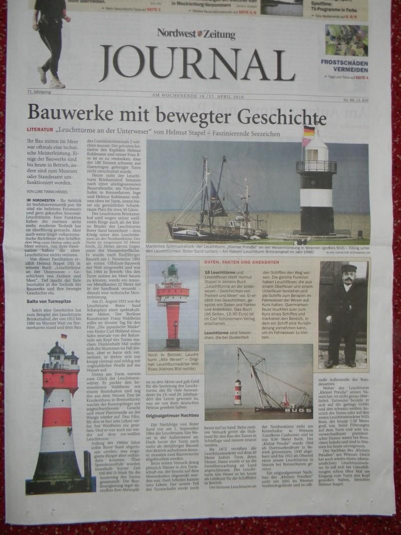 Kurti's  Leuchtturm Roter Sand, Maßstab 1:72   Dscn3216