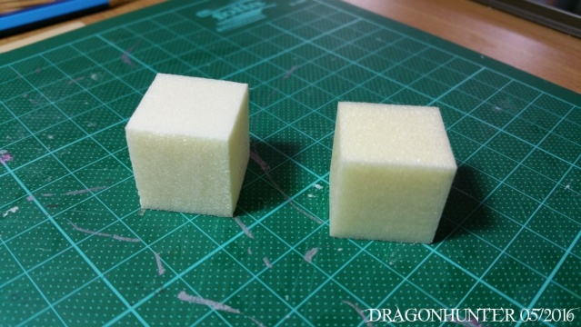 How to make crates and barrels with polystyrene 0220