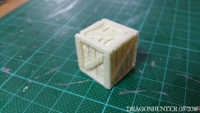 How to make crates and barrels with polystyrene 1012