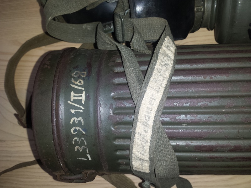 Masque à gaz Luftwaffenhelfer 20160315