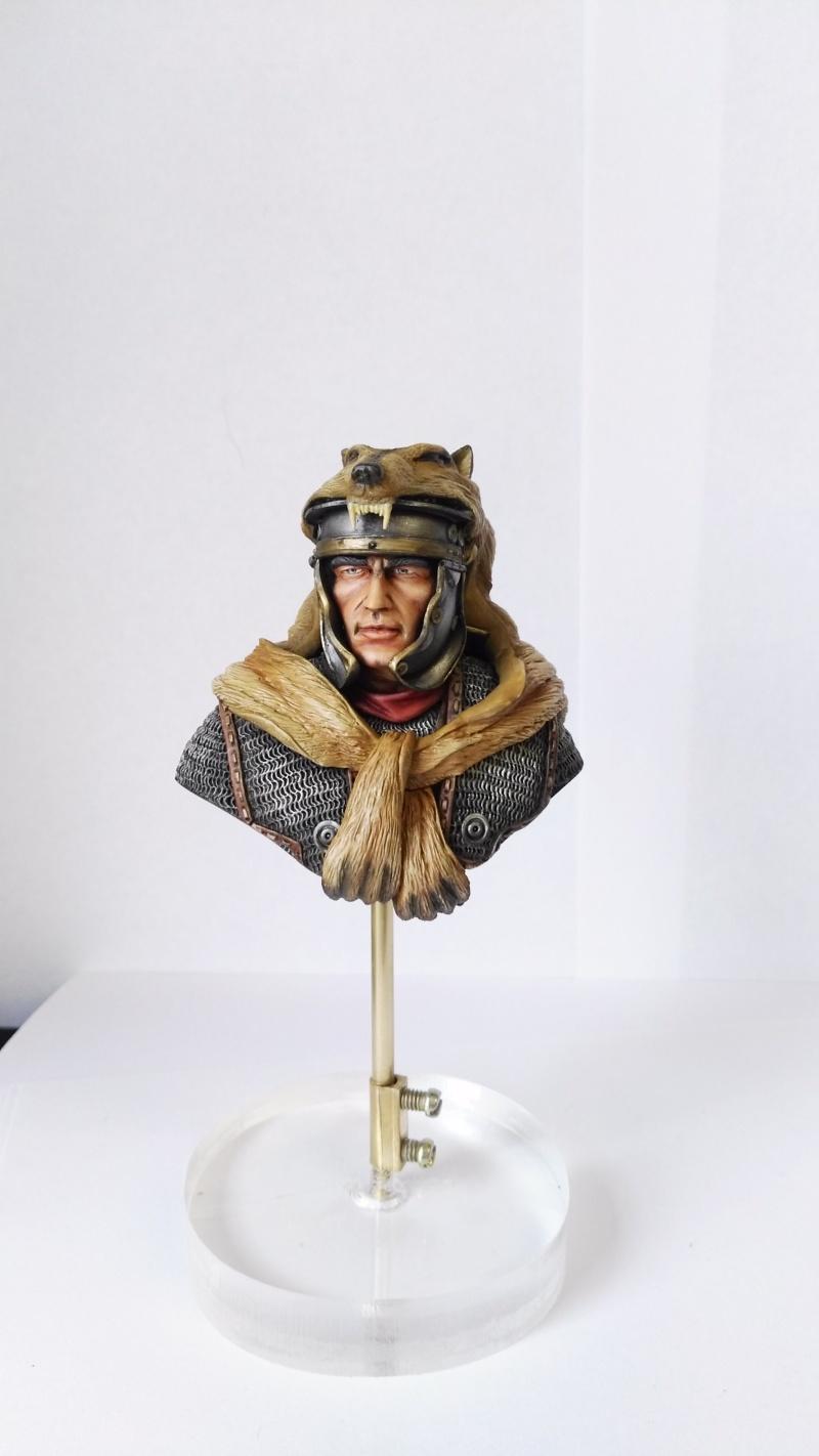De retour de Mons expo avec une médaille d'or catégorie figurines débutant Img_2025
