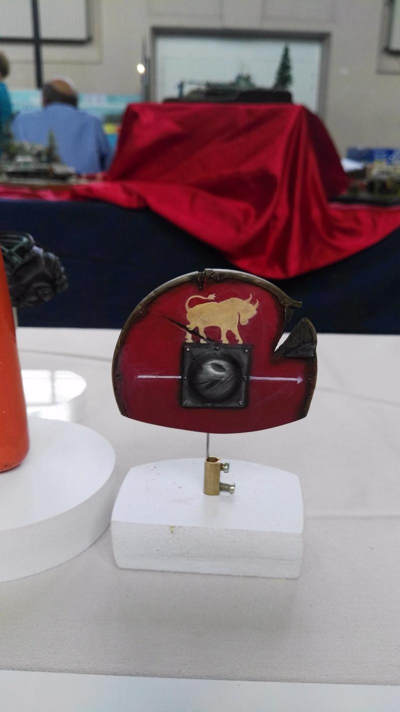 De retour de Mons expo avec une médaille d'or catégorie figurines débutant Img_2035