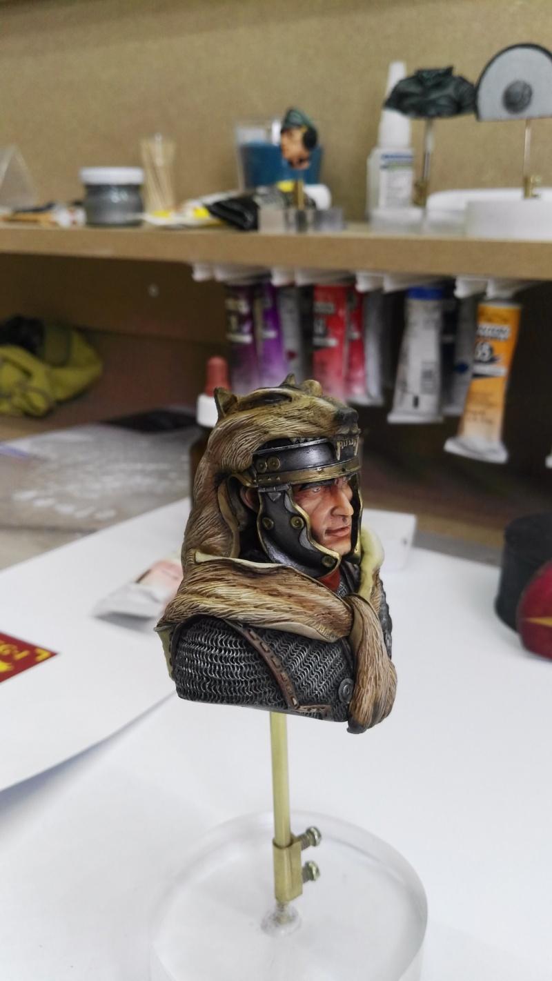 De retour de Mons expo avec une médaille d'or catégorie figurines débutant Img_2037