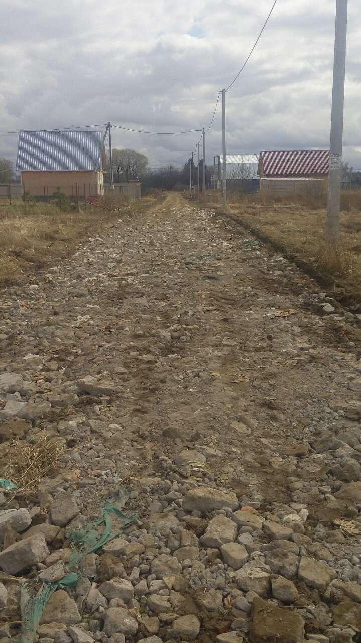Обустройство дорог в поселке Share212