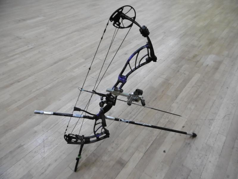Les Stabilisations Dead Center Archery - La gamme Diamond Series P1000211