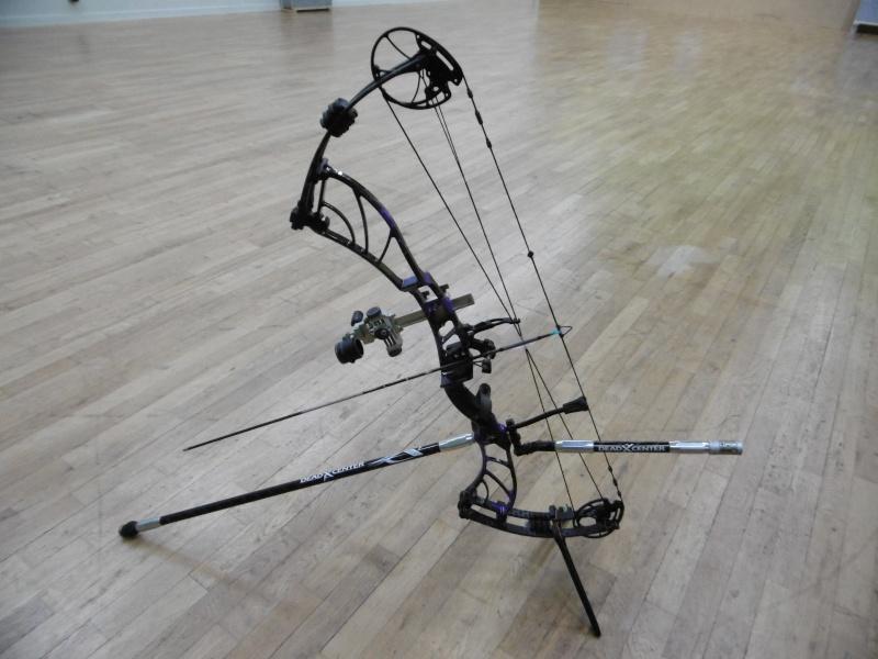 Les Stabilisations Dead Center Archery - La gamme Diamond Series P1000212