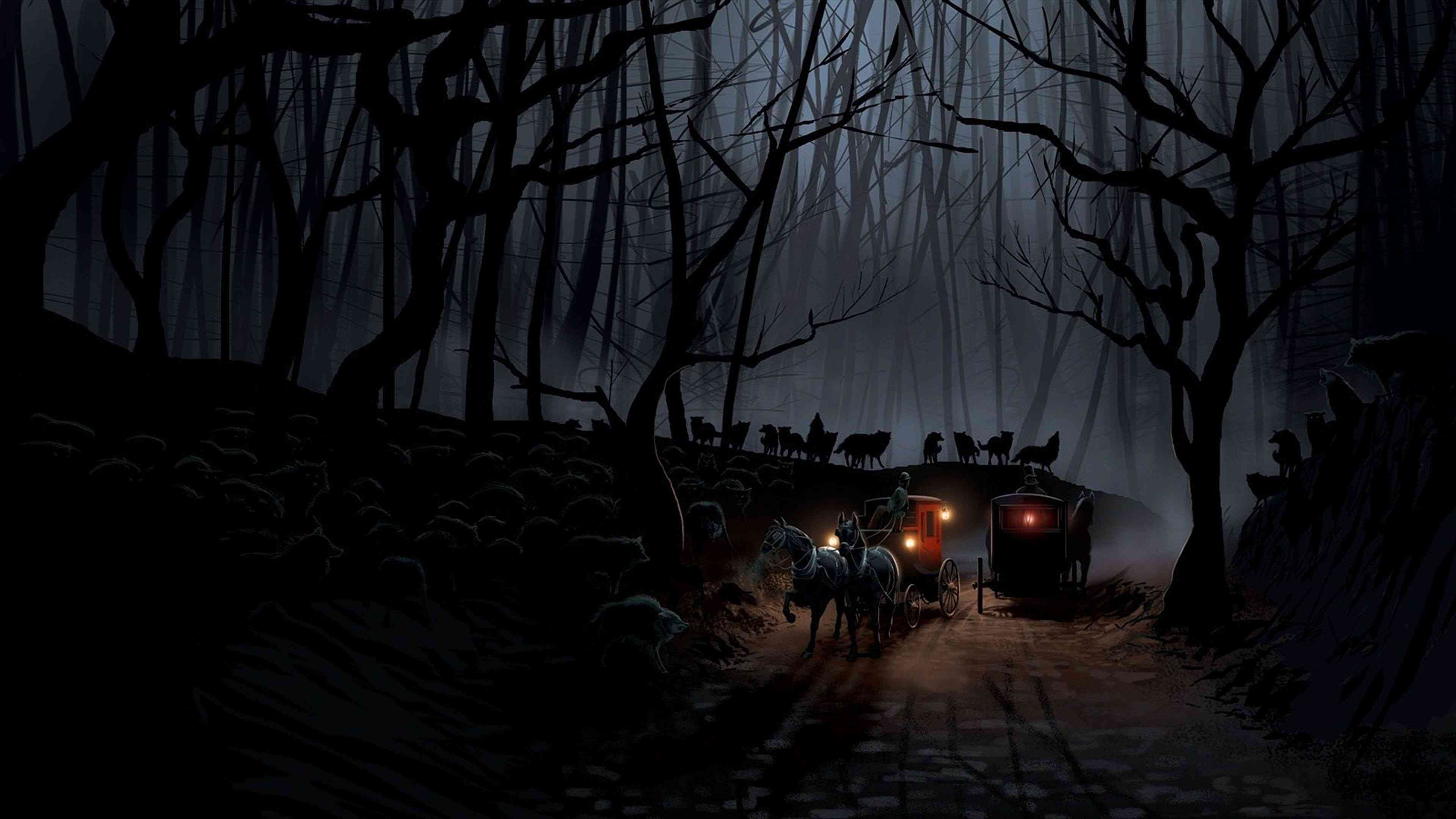 1.1 Svalich Woods, The Red Stage-Coach  910