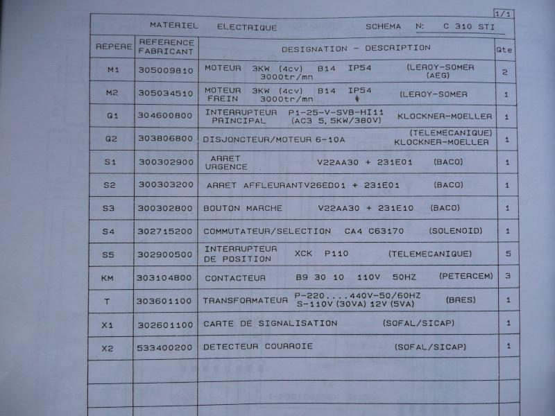 Lurem 310 STI électricité P1020516