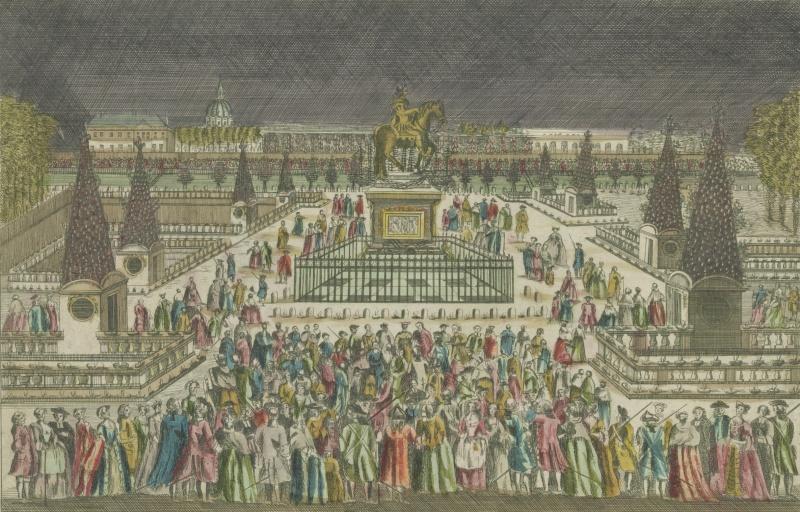 Le Paris de Marie Antoinette: vues et descriptions - Page 2 Vue_op11