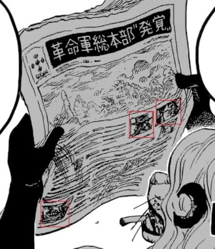 One Piece Kapitel 823: Aufruhr in der Welt Newspa10