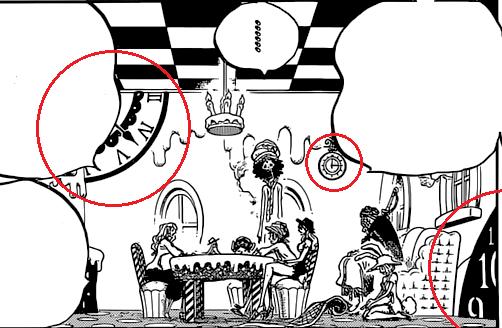 One Piece Kapitel 828: 1 und 2 Uhren10
