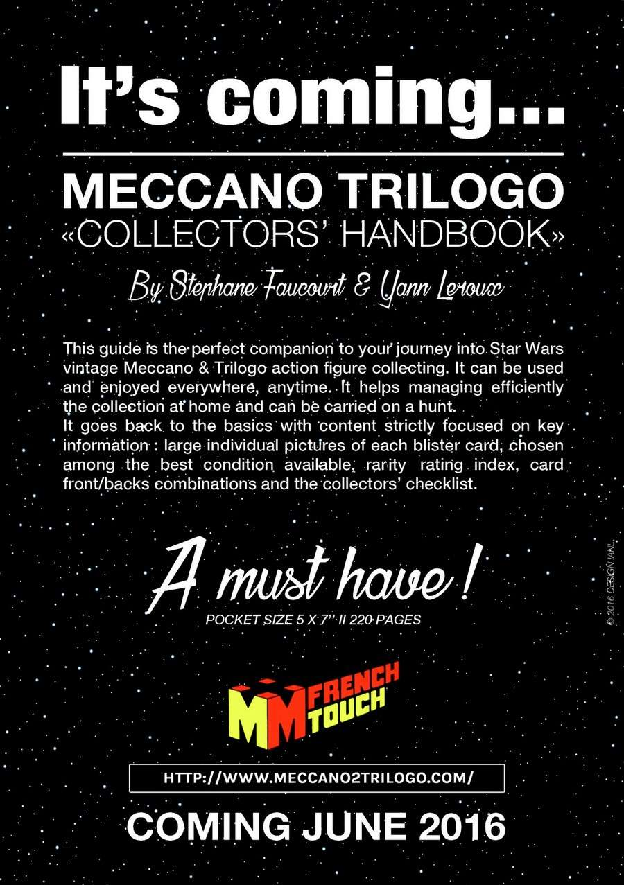 It's coming - the MECCANO-TRILOGO Collectors' HANDBOOK Flyer-10