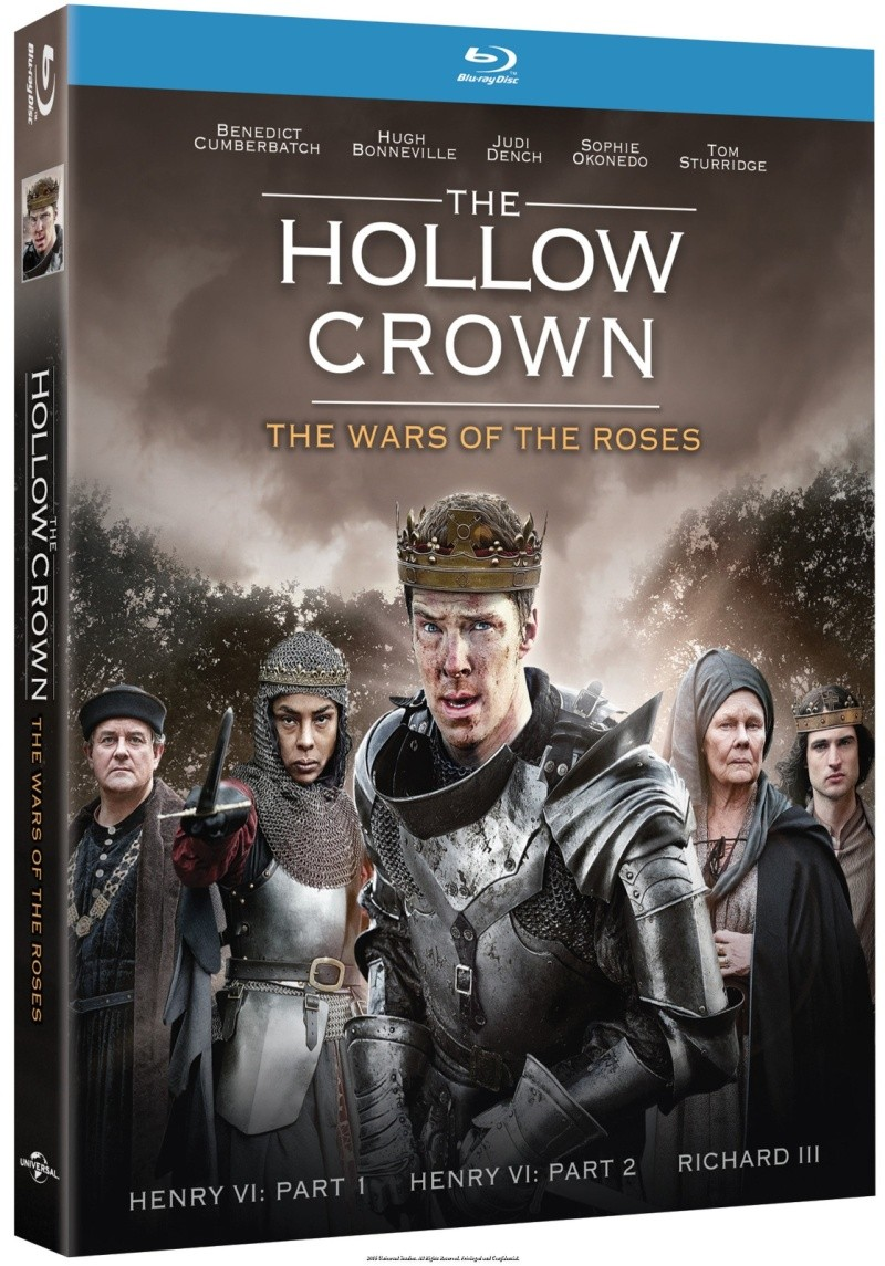 The Hollow Crown: Tom Sturridge and Benedict Cumberbatch bring Shakespeare's Henry VI to life 35008410